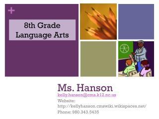 Ms. Hanson