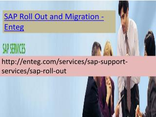 Enteg SAP Roll Out and Migration