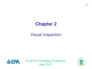 Chapter 2 Visual Inspection