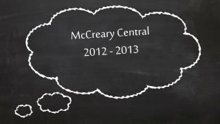McCreary Central 2012 - 2013