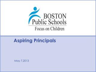 Aspiring Principals