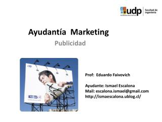 Ayudantía   Marketing