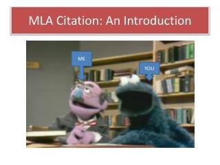MLA Citation: An Introduction
