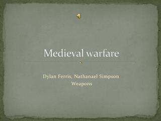 Medieval warfare