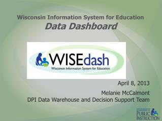 Wisconsin Information System for Education Data Dashboard