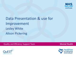 Data Presentation & use for Improvement