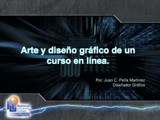 Arte  y diseño gráfico de un curso en línea.