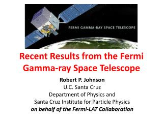 Recent Results from the Fermi Gamma-ray Space Telescope