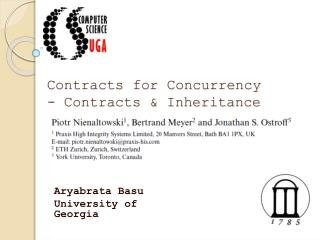 Contracts for Concurrency - Contracts & Inheritance