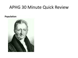 APHG 30 Minute Quick Review