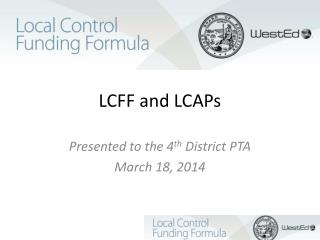 LCFF and LCAPs