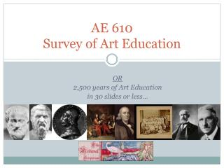 AE 610  Survey of Art Education