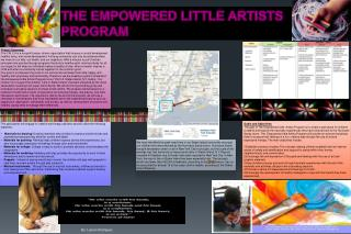 The Empowered Little Artists Program