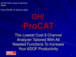 GHI   ProCAT