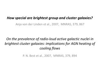 How special are brightest group and cluster galaxies?
