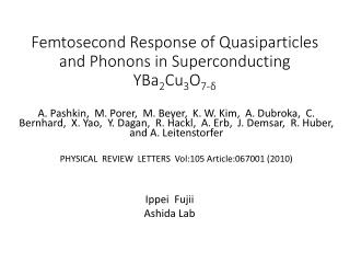 Femtosecond Response of  Quasiparticles  and Phonons in Superconducting YBa 2 Cu 3 O 7-δ