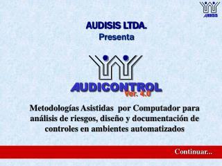 AUDISIS LTDA. Presenta