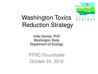 Washington Toxics     Reduction Strategy
