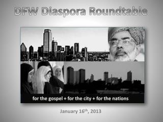 DFW  Diaspora Roundtable