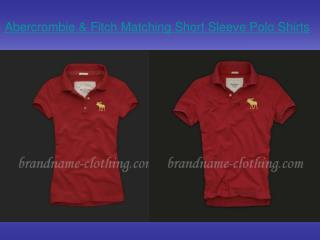 Abercrombie & Fitch Matching Short Sleeve Polo Shirts