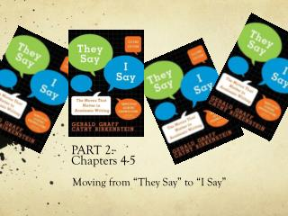 PART 2:  Chapters 4-5