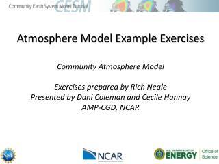 Community Atmosphere Model