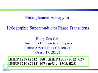 Entanglement Entropy in  Holographic  Superconductor  Phase Transitions