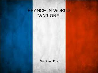 France in World war One