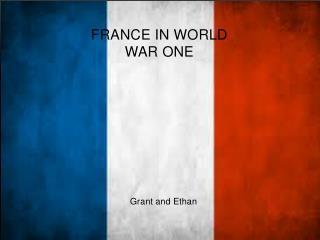 France in World war One