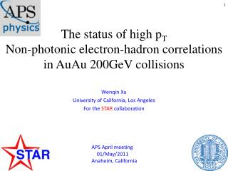 The status of high  p T Non-photonic electron- hadron  correlations  in  AuAu  200GeV collisions