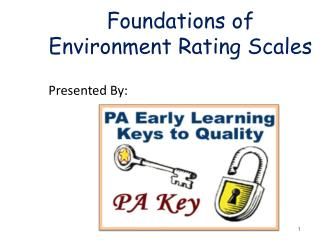 Foundations of Environment Rating Scales
