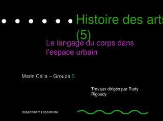 Histoire des arts ( 5 )