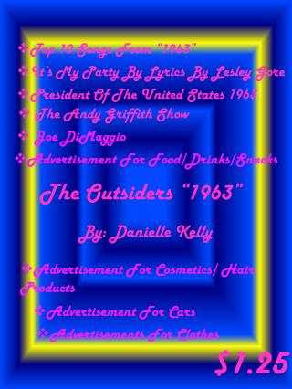 The Outsiders �1963�
