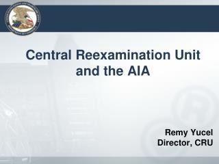 Remy Yucel Director, CRU