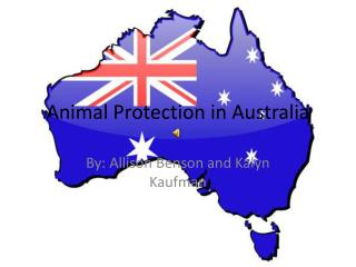 Animal Protection in Australia