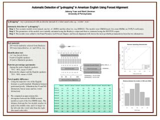"Automatic Detection of ""g-dropping"" in American English Using Forced Alignment"