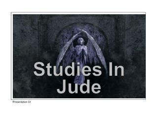 Studies In Jude