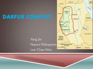 Darfur Conflict
