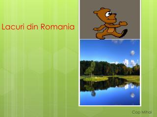 Lacuri  din Romania