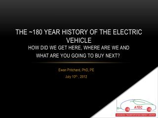 Ewan Pritchard,  PhD, PE July  10 th  , 2012