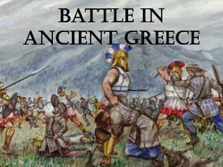 Battle in Ancient Greece