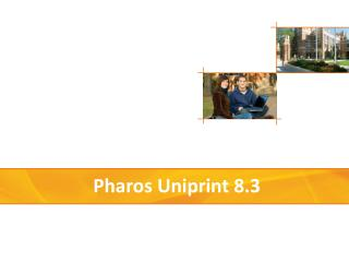 Pharos  Uniprint  8.3