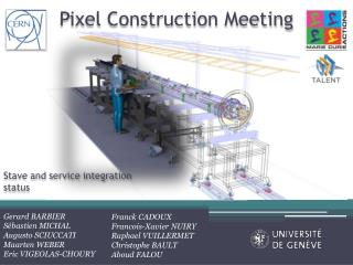 Pixel Construction Meeting