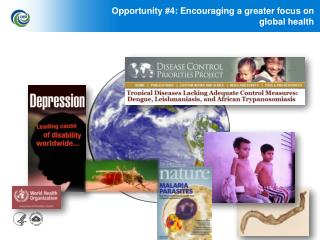 Opportunity #4: Encouraging a greater focus on                        global health