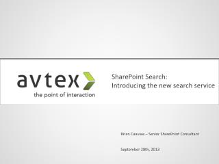 SharePoint Search: Introducing the new search service