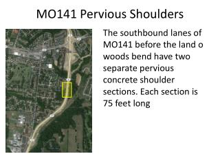 MO141 Pervious Shoulders