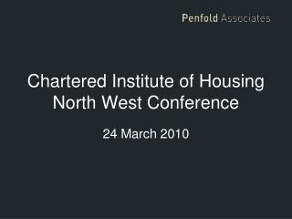Chartered Institute of Housing North West Conference