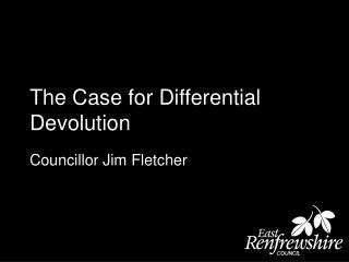 The Case for Differential Devolution