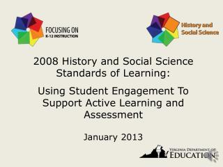 2008 History and Social Science Standards of Learning: