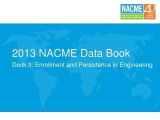 2013 NACME Data Book
